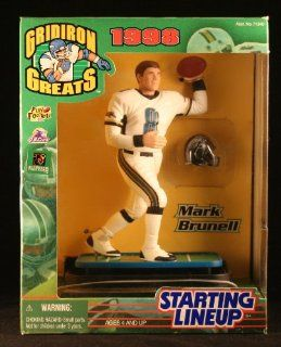 MARK BRUNELL / JACKSONVILLE JAGUARS 1998 NFL GRIDIRON GREATS Starting Lineup Deluxe 6 Inch Figure Toys & Games
