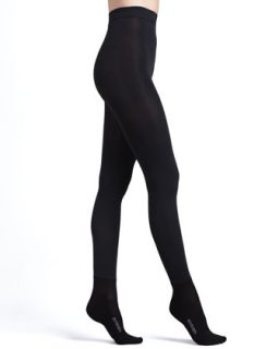 Womens Bootights Shaper Luxe Super Opaque Tights with Ankle Sock   Jet (C/135