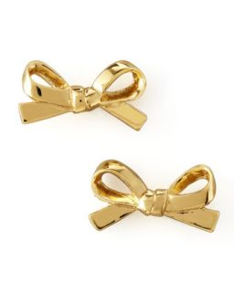 Mini Bow Stud Earrings, Gold   kate spade new york   Gold
