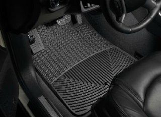 2007 2011 GMC Acadia Black WeatherTech Floor Mat (Full Set) [Without 2nd Row Center Console] Automotive