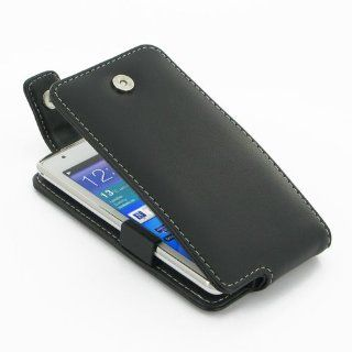 PDair T41 Black Leather Case for Samsung Galaxy S WiFi 4.2 / Galaxy Player 4.2 YP GI1 Cell Phones & Accessories