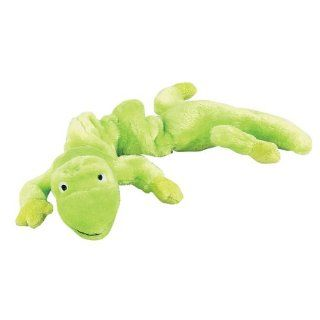 Zanies Plush Bungee Geckos Dog Toy, 16 Inch, Neon Green  Pet Chew Toys
