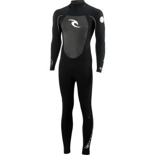 RIP CURL Mens Dawn Patrol Full Sleeve Springsuit   Size Medium, Black