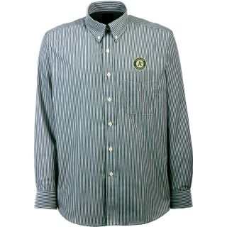 Antigua Oakland Athletics Mens Republic Button Down Long Sleeve Dress Shirt