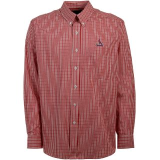 Antigua St. Louis Cardinals Mens Monarch Long Sleeve Dress Shirt   Size