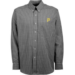 Antigua Pittsburgh Pirates Mens Monarch Long Sleeve Dress Shirt   Size Medium,