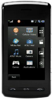 LG CU920 QuadBand Unlocked Phone with Touch Screen,  Player and 2MP Camera   US Warranty   Black Cell Phones & Accessories