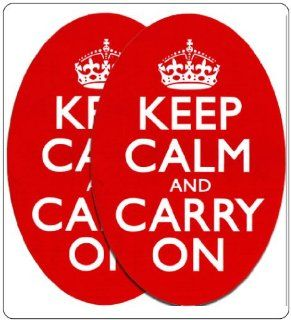Keep Calm and Carry On Bumper Stickers Vinyl   Like Car Decals Be Calm and Carry On in Your Car Automotive