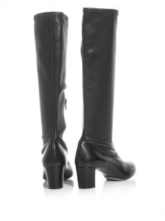 Stretch leather knee high boots  Chloé