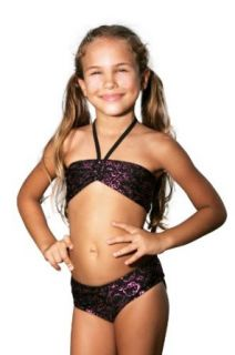 Hello Kitty Faces Bandeau Bikini   Little Girl Clothing