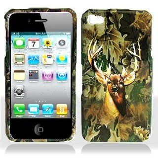 Cuffu   Deer Hunter   Apple iPhone 4 Case Cover + Screen Protector (Universal 8 cm x 6 cm Customize your own LCD protector Great for any electronic device with LCD display) Makes Perfect Gift In Only One LOWEST Shipping Rate $2.98   Goes With Everyday St