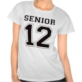 Senior 2012   Black T Shirts