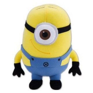 Minion Plush Toy   Despicable Me Stuffed Animal (8 Inch) Toys & Games