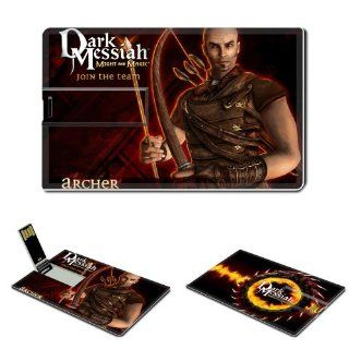 Dark Messiah Of Might And Magic Anime Comic Game ACG Customized USB Flash Drive 8GB Electronics