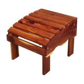 Beecham Swing Co. Aromatic Red Cedar Ottoman   Adirondack Furniture