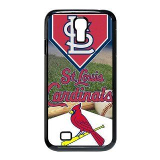 Custom St. Louis Cardinals Case For Samsung Galaxy S4 I9500 WX4 1345 Cell Phones & Accessories