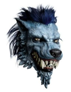 Scary Masks Worgen Latex Mask Halloween Costume   Most Adults Clothing