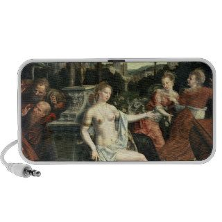 Susanna and the Elders, 1567 Notebook Speaker