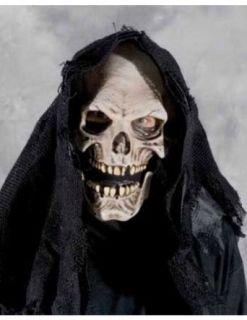 Grim Reaper Mask Halloween Costume   Most Adults Clothing