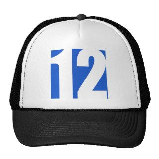 Square No. 12 Graphic Trucker Hat