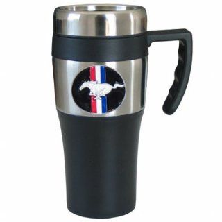 Siskiyou Sports Ford Mustang Travel Mug, 14 Ounce Mustang Coffee Mug Kitchen & Dining