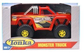 Tonka Monster Truck 4x4 Red Dirt Demon Toys & Games