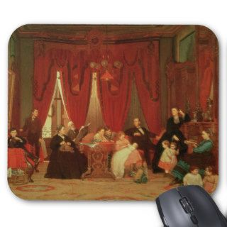 The Hatch Family, 1870 71 Mouse Pad