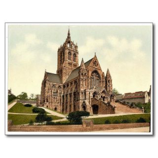 Coates Memorial Church, Paisley, Scotland classic Post Cards