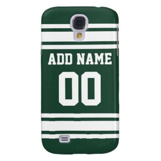 Team Jersey with Custom Name and Number Galaxy S4 Covers