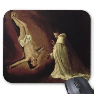 Appearance of St. Peter to St. Peter Nolasco Mouse Pads