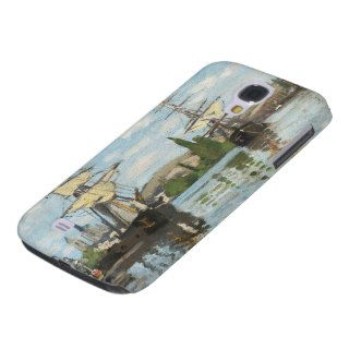 Ships Riding on the Seine at Rouen, 1872 73 Samsung Galaxy S4 Case