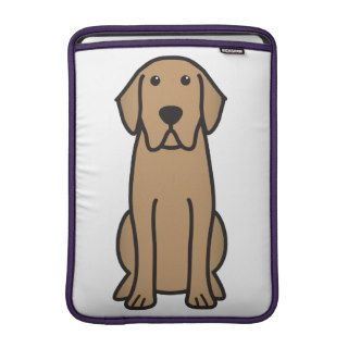 Labrador Retriever Dog Cartoon MacBook Air Sleeves