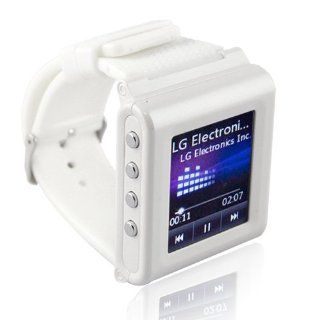 White Mobile Watch GSM Camera DV Cellphone Unlocked Bluetooth Touch Screen SPY Watches