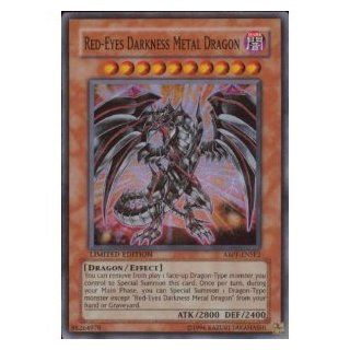 Yugioh 5d's Red Eyes Darkness Metal Dragon Super Rare Card Absolute Powerforce Limited Edition ABPF ENSE2 Toys & Games