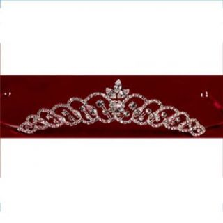 Angels Garment Girl Large Rhinestone Winding Tiara Special Occasion Angels Garment Clothing