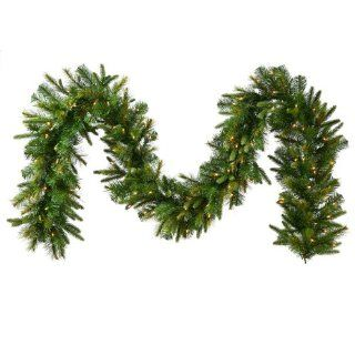 "6' x 14"" Battery Operated Pre Lit Mixed Cashmere Pine Christmas Garland   Clear LED Lights   Artificial Christmas Garlands"