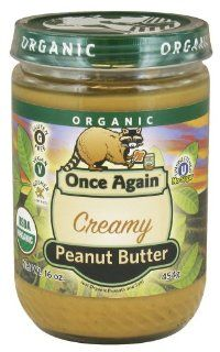 Once Again, 100% Organic Smooth Peanut Butter, 12/16 Oz  Grocery & Gourmet Food