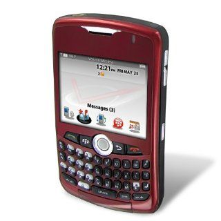 RIM BlackBerry 8330 Curve Phone, Red with Red Lens (Verizon Wireless) CDMA only   No Contract Required. QWERTY. PDA. Cell Phones & Accessories