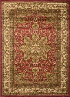 Home Dynamix Royalty, Traditional Area Rug 7 ft. 8 inches x 10 ft. 4 inches Red.