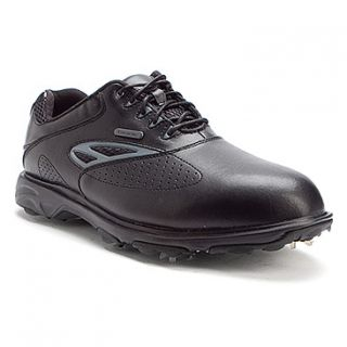 Etonic Sport Tech II Golf  Men's   Black/Charcoal WP Leather