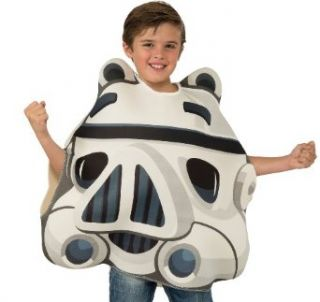 Angry Birds Star Wars Stormtrooper Child's Costume Tunic, One Size Clothing