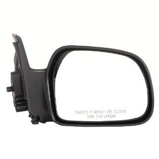 CIPA 27564 OE Replacement Electric Heated Outside Rearview Mirror (Black)   Passenger Side Automotive