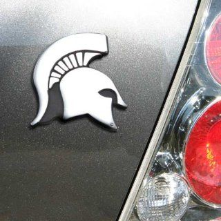 NCAA Michigan State Spartans Chrome Team Logo Auto Emblem  Sports & Outdoors