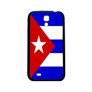 Cuba Flag Samsung Galaxy S4 Black Silcone Case   Provides Great Protection Cell Phones & Accessories