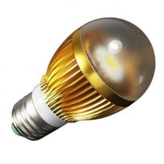 LOHAS High Power COB LED Lamp Bulbs Light E27 6W 50W Halogen Equivalent, 110 240V Cool White (Pack of 10)   Led Household Light Bulbs