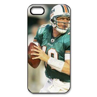 DIYCase NFL Series Miami Dolphins   Anti Scratch Hard One Piece Case for iphone 5   Black Back Case Custom   2381754 Cell Phones & Accessories