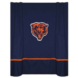 NFL Chicago Bears MVP Shower Curtain  Sports Fan Shower Curtains  Sports & Outdoors