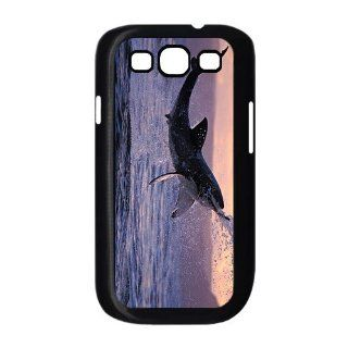 Jumping Shark Samsung Galaxy S3 Case for Samsung Galaxy S3 I9300 Special Design Cell Phones & Accessories
