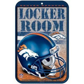 NFL Denver Broncos Sign   Locker Room  Sports Related Merchandise  Sports & Outdoors