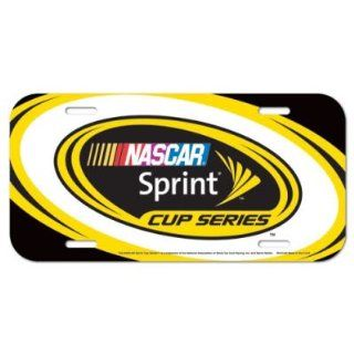 NASCAR OFFICIAL LOGO LICENSE PLATE  Sports Related Collectibles  Sports & Outdoors
